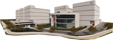5 data centers e 1 prédio administrativo em Canoas - Rio Grande do Sul